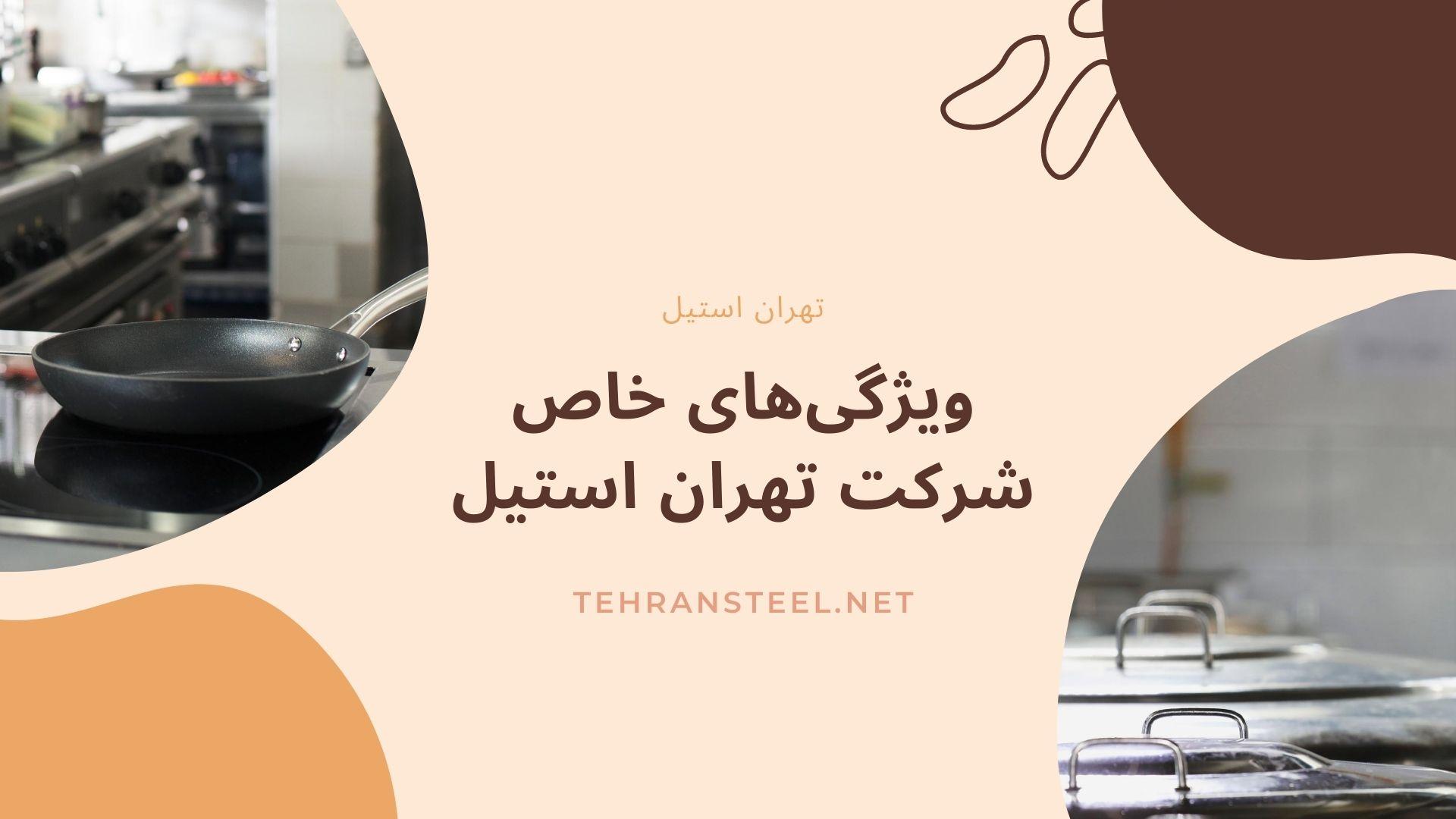 ویژگیهای خاص شرکت تهران استیل