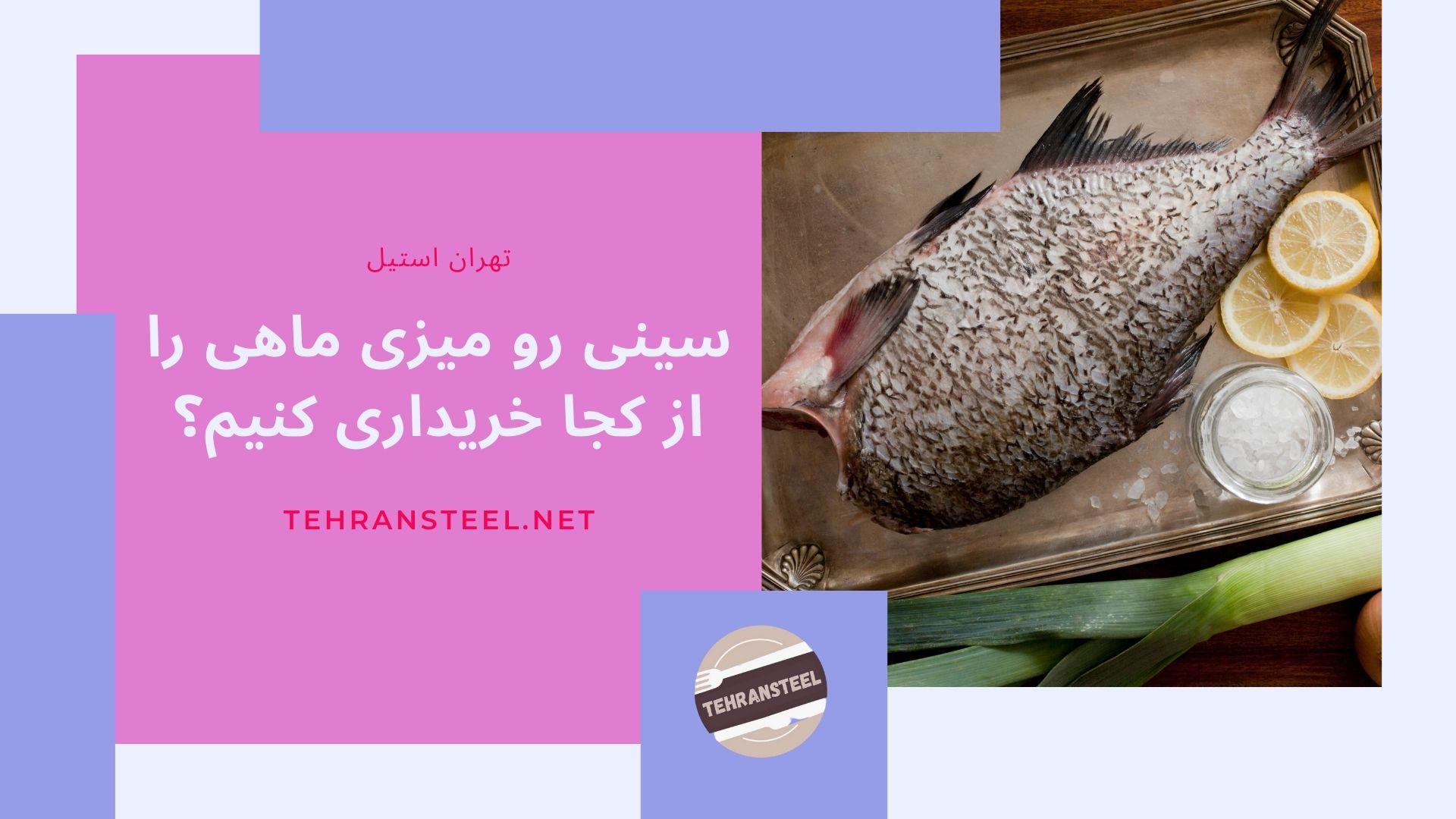 سینی رو میزی ماهی را از کجا خریداری کنیم؟