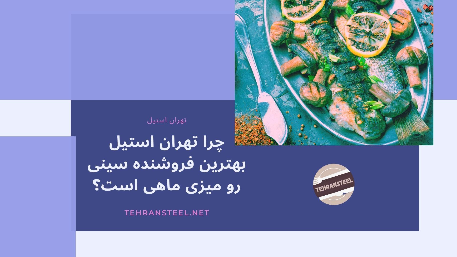 چرا تهران استیل بهترین فروشنده سینی رو میزی ماهی است؟